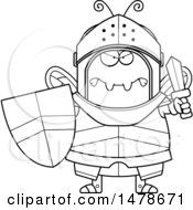 Chubby Outline Mad Bee Knight