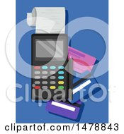 Poster, Art Print Of Credit Card Machine And Cards