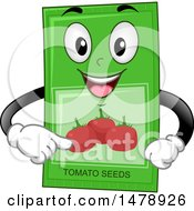 Tomato Seeds Packet Mascot