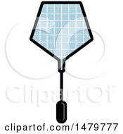 Clipart Of A Pentagon Shaped Tennis Racket Royalty Free Vector Illustration
