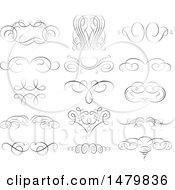 Poster, Art Print Of Vintage Calligraphic Design Elements