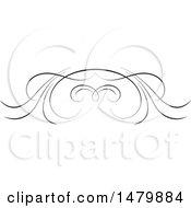 Poster, Art Print Of Vintage Calligraphic Design Element