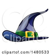 Clipart Of A Witch Hat Royalty Free Vector Illustration