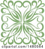 Green Decorative Design Element