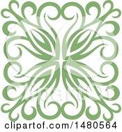 Poster, Art Print Of Green Decorative Design Element