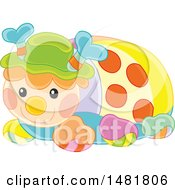 Cute Colorful Toy Ladybug