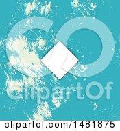 Blue Grunge Invite Background