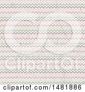 Clipart Of A Distressed Chevron Pattern Background Royalty Free Vector Illustration