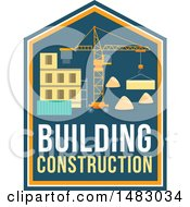 Clipart Of A Construction Design Royalty Free Vector Illustration