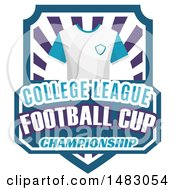 T Shirt And College League Football Cup Championship Design