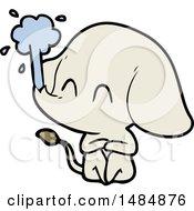 Cartoon Clipart Of An Elephant
