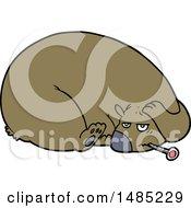 Cartoon Clipart Of A Bear by lineartestpilot