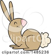 Cartoon Clipart Of A Bunny Rabbit