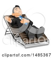 Clipart Of A 3d Business Man Talking In A Counseling Session On A White Background Royalty Free Illustration