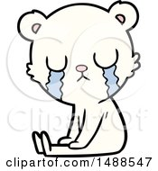Crying Polar Bear Cartoon