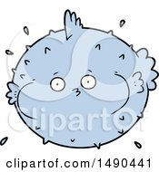 Clipart Cartoon Puffer Fish by lineartestpilot