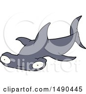 Clipart Cartoon Hammerhead Shark