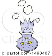 Clipart Cartoon Magic Potion by lineartestpilot