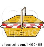 Clipart Cartoon Picnic Basket