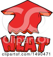 Clipart Cartoon Heat Symbol