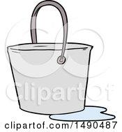 Clipart Cartoon Bucket Of Water by lineartestpilot