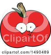 Clipart Cartoon Apple