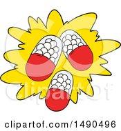 Clipart Cartoon Powerful Pills