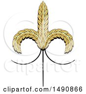 Sheaves Of Wheat Design