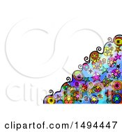 Clipart Of A Doodle Watercolor Star Design On A White Background Royalty Free Illustration by Prawny