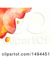 Clipart Of A Watercolor Design On A White Background Royalty Free Illustration by Prawny