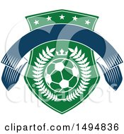 Soccer Ball And Shield Design