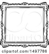 Sketched Frame Design Element