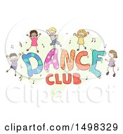 Dance Club Design With Children