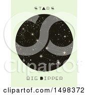 Poster, Art Print Of Big Dipper Constellation