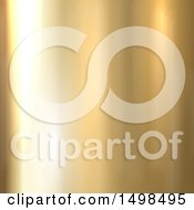 Shiny Golden Metal Background