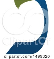 Clipart Of An Abstract Letter J Logo Royalty Free Vector Illustration by Vector Tradition SM
