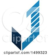 Abstract Letter J Logo