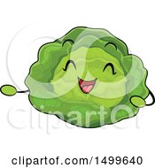 Happy Cabbage Character Mascot