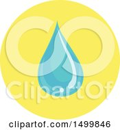 Hand Washing Waterdrop Icon