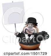 Clipart Of A 3d Business Bulldog Holding A Camera On A White Background Royalty Free Illustration