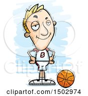 Confident White Male Basketball Player