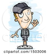 Waving White Male Referee