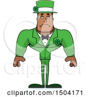 Sad Buff Black Irish Male Leprechaun