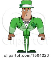 Surprised Buff Black Irish Male Leprechaun