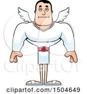Poster, Art Print Of Bored Buff Caucasian Male Cupid