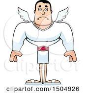 Sad Buff Caucasian Male Cupid