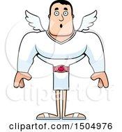 Surprised Buff Caucasian Male Cupid