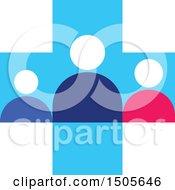 Medical Cross People Design