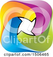 Clipart Of A Colorful Icon Royalty Free Vector Illustration by Lal Perera