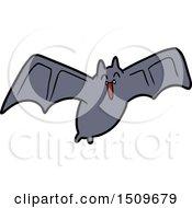 Spooky Cartoon Bat